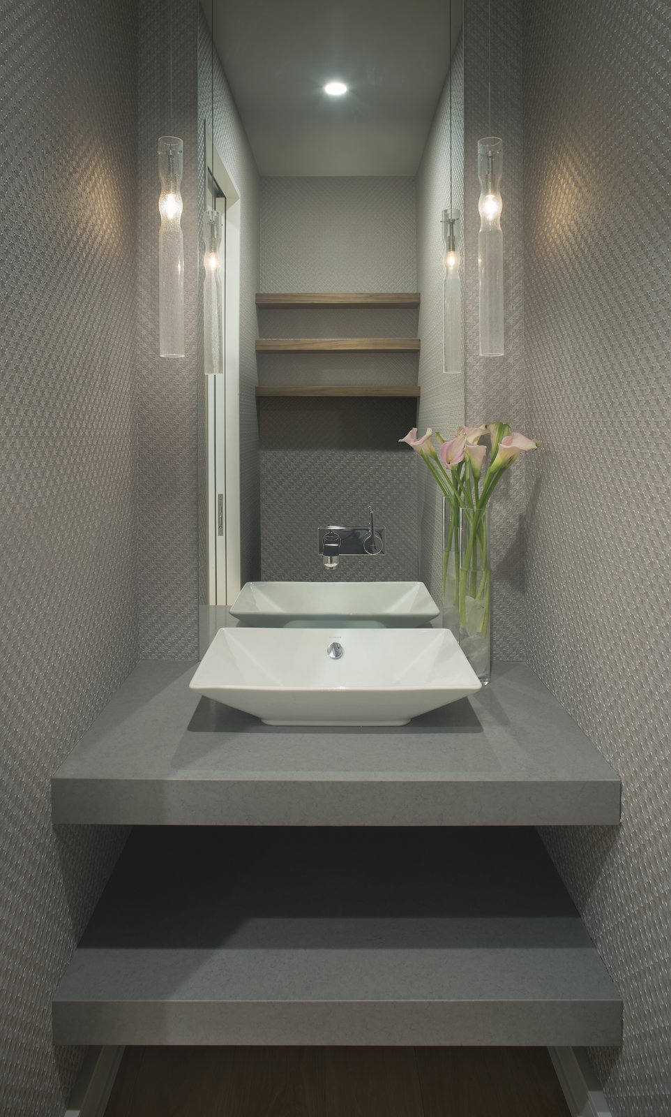 Bath Room Powder room   Smuggler Grove by Forum Phi Architecture | Interiors | Planning