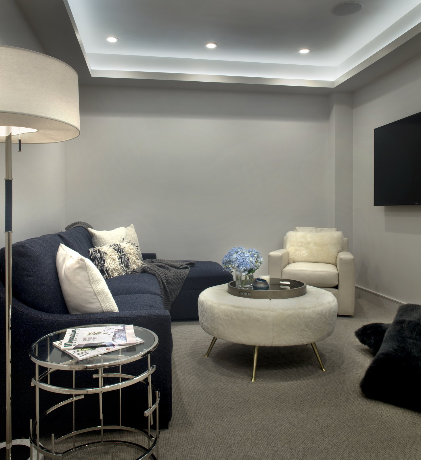 Living Room Media room   Smuggler Grove by Forum Phi Architecture | Interiors | Planning