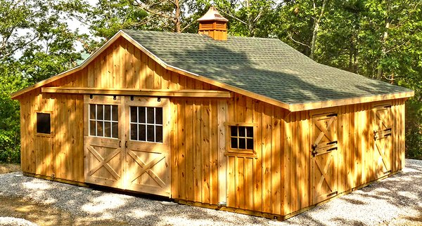 Hailing from Lancaster County Pennsylvania, the heart of Amish Country, Horizon Structures' modular barns cost less than traditional  Photo 4 of 11 in 10 Prefab Barn Companies That Bring DIY to Home Building
