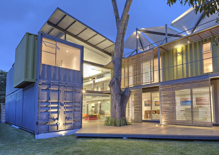 photo 6 of 12 in 10 beautiful island style shipping container homes dwell