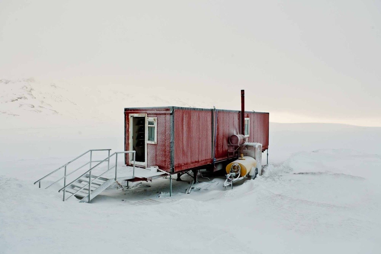 It doesn't get any more remote than this incredible shipping container home which was captured by photographer Bryce Johnson in the bleak wilderness of Iceland.  Photo 8 of 12 in 10 Beautiful Island-Style Shipping Container Homes