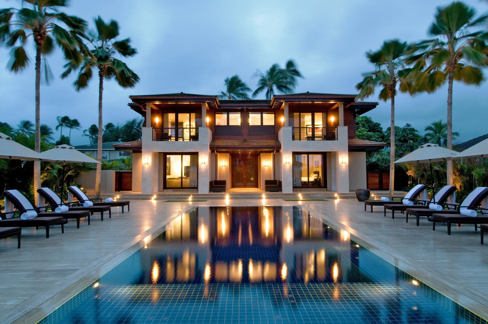 The 7 bedroom 7 5 bath royal beach estate is one of the newest most
