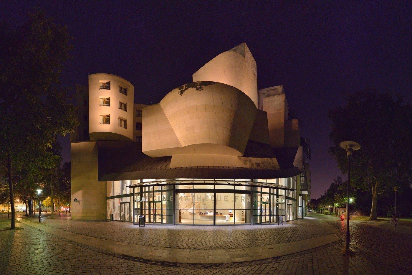 Frank Gehry buildings, Cinémathèque Française