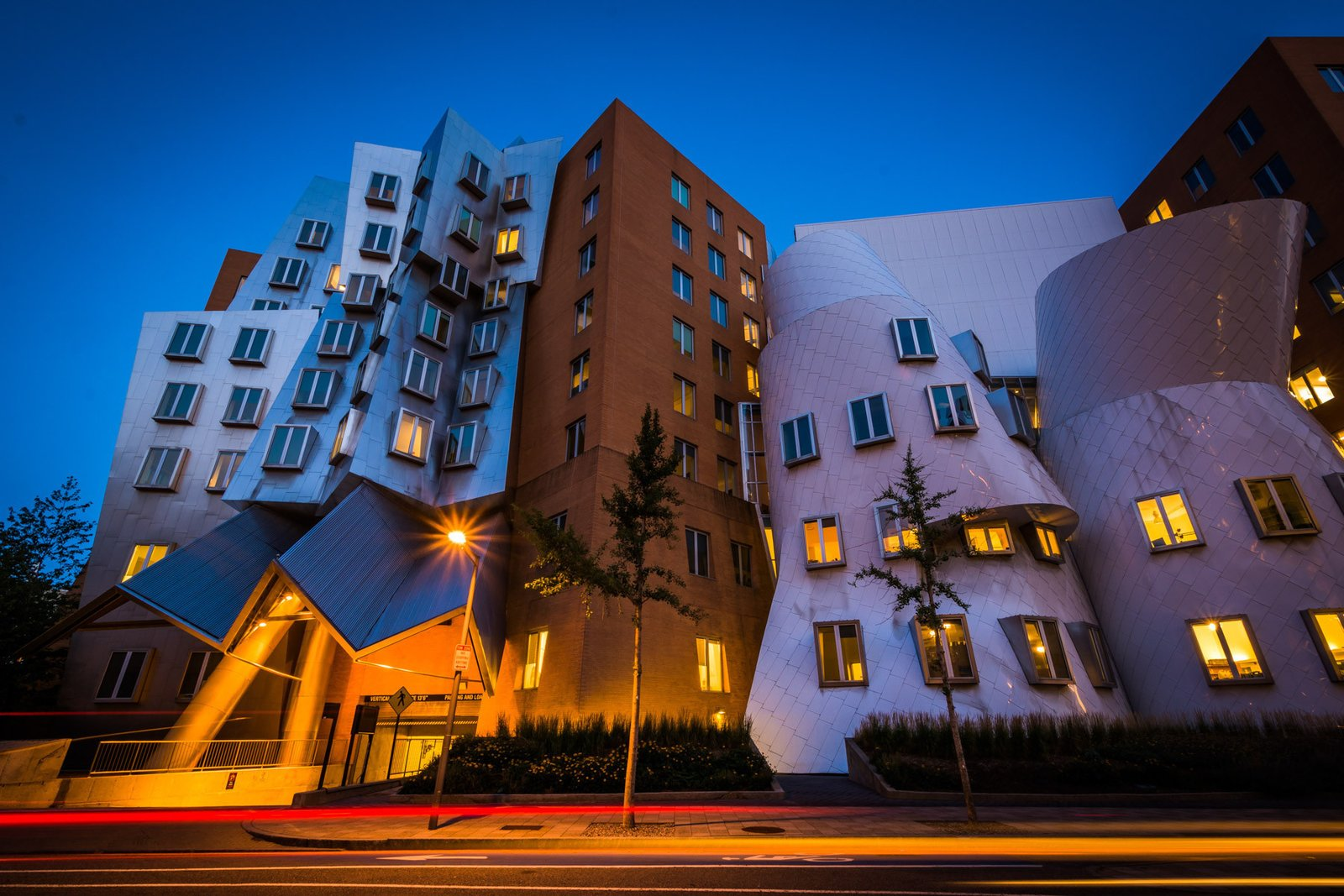 In a  glowing appraisal of Gehry's Stata Center, Boston Globe architecture columnist Robert Campbell wrote:  Photo 6 of 14 in 13 Iconic Buildings Designed by Frank Gehry