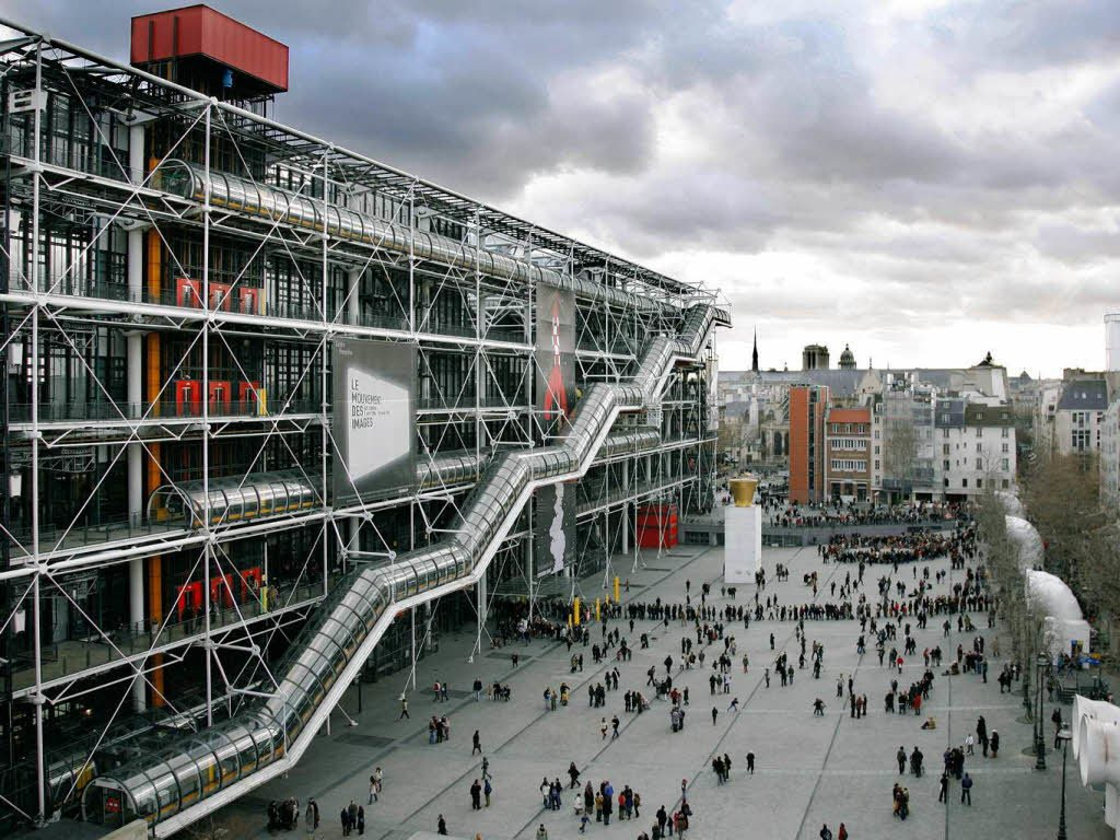 Exterior, Metal Siding Material, and Flat RoofLine National Geographic described  this design as  Photo 8 of 13 in 12 Renzo Piano Buildings We Love