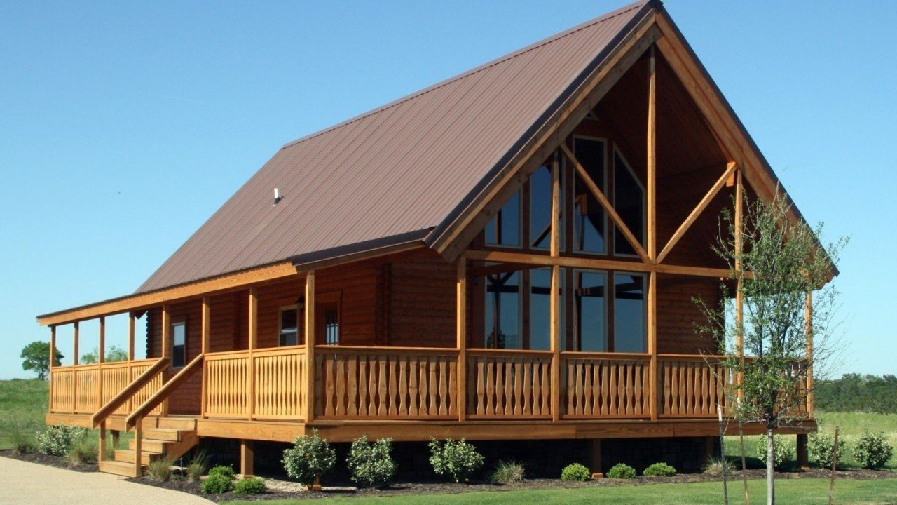 Conestoga Log Cabins was originally established to construct simple, solid and economical structures for the campground market. Families soon discovered the warmth and coziness of cabins and asked to buy their own log cabin kits.  Photo 2 of 11 in 10 Prefab Log Home Companies