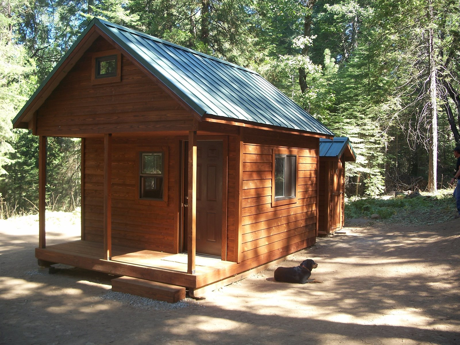 These cabin kits are ideal for easy assembly and transport to remote locations or your backyard. No section is larger than four feet wide or 12 feet long. Everything is either pre-assembled in sections or pre-cut for hassle free construction, with staining and painting options also available.  Photo 4 of 11 in 10 Prefab Log Home Companies