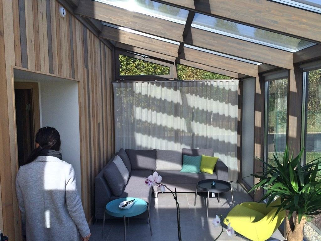 Glass & Wood call this addition a  Photo 7 of 8 in 7 Resources For Prefab Sunrooms and Easy-to-Install Sun Parlors