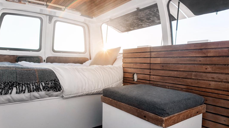 New York Times-featured adventurer Zach Both takes his commercial and documentary production skills on the road in this stylishly appointed camper.  Photo 8 of 11 in 9 Adventure Seekers Who Celebrate Small Space Living Through the Van Life