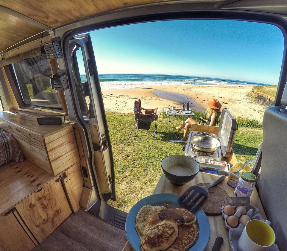 Australian adventurer Rob Townsend has contributed to National Geographic about adventuring in a van.  Photo 10 of 11 in 9 Adventure Seekers Who Celebrate Small Space Living Through the Van Life