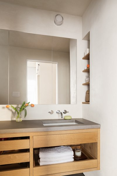 Medium Wood Bathroom Vanity
