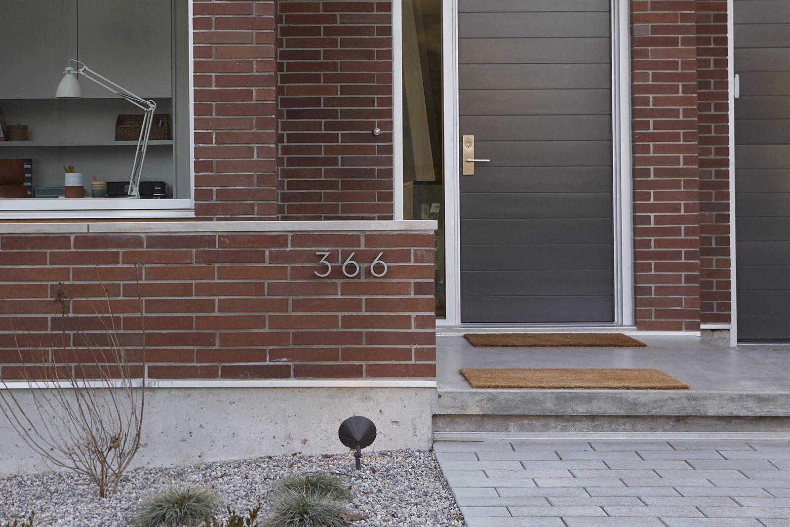 Entrance.  Delaware by ben homes