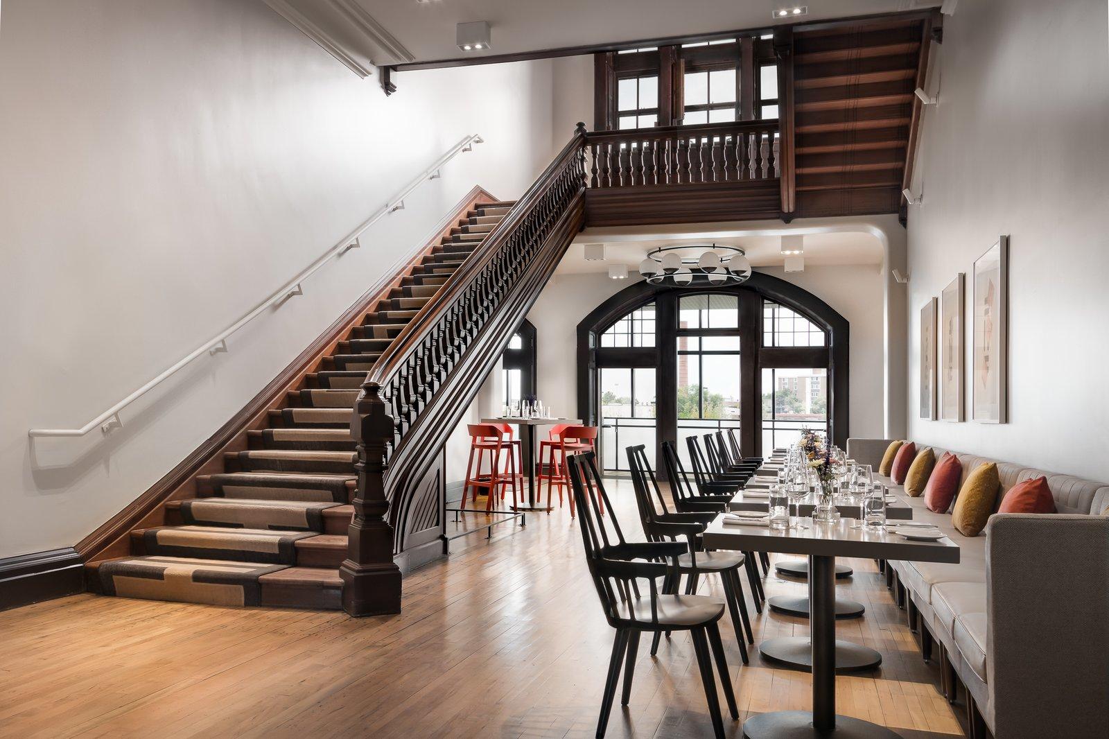 Dining Room 100 Acres Restaurant at Hotel Henry  Hotel Henry Urban Resort at Richardson Olmsted Campus
