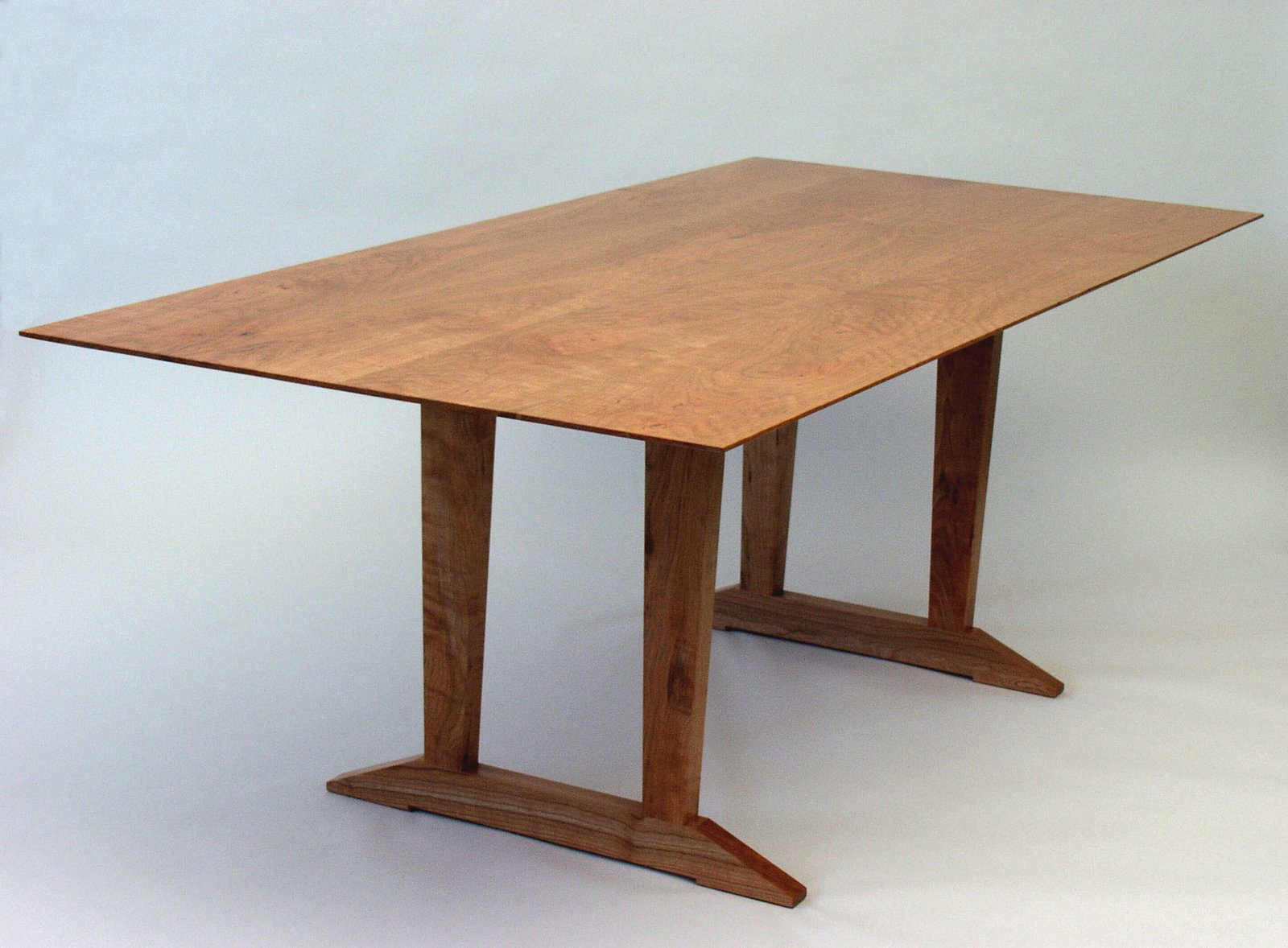 Cherry Trestle Table   Tables