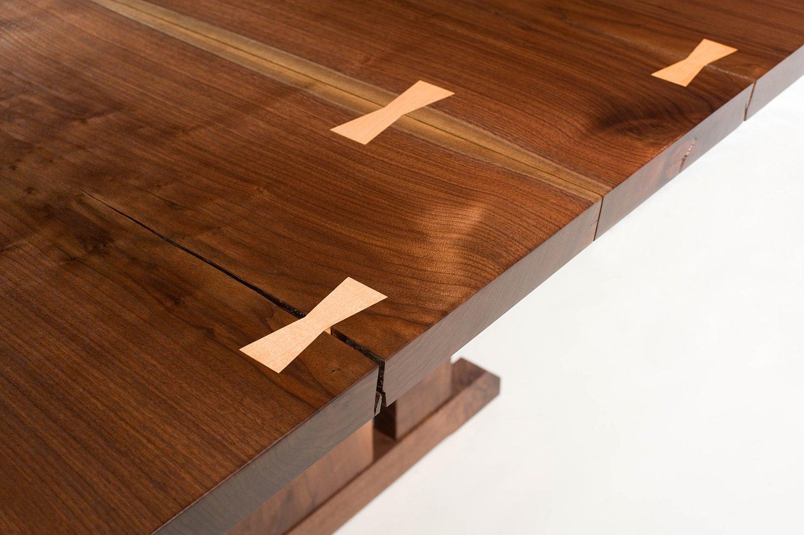 Maple dovetail keys  Tables