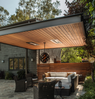 Abramson House by KDL Architects featuring Infratech Flush Mount WD-Series Heaters