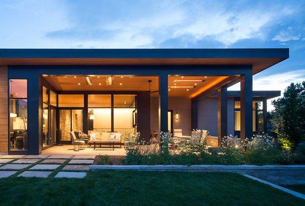 Modern Golf Course Home Modern Home In Colorado By Hmhai
