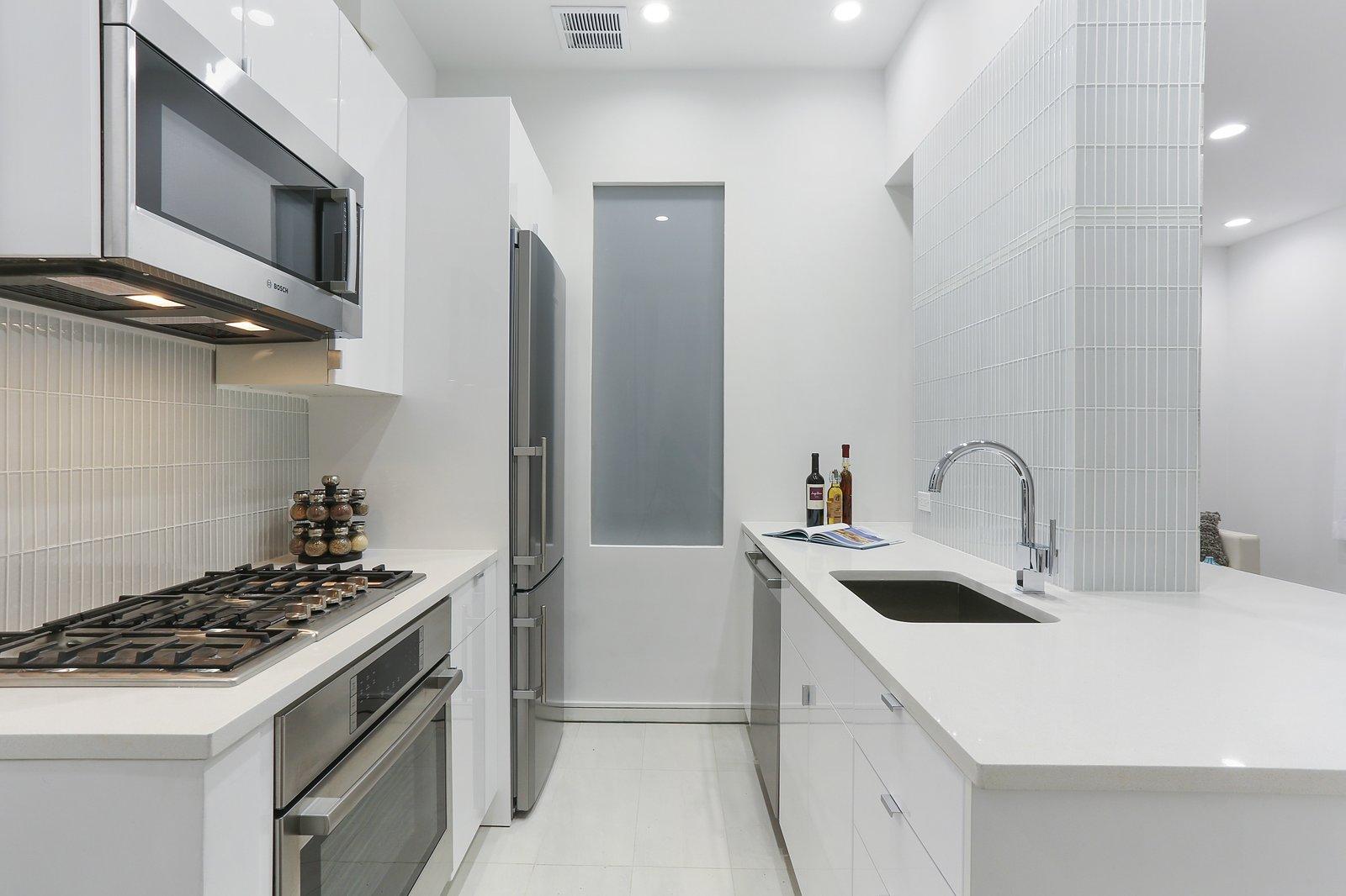 Modern Galley Kitchen Update Modern Home in New York, New York by ...