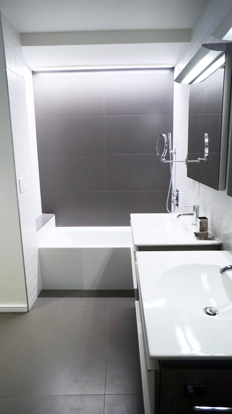 Duplex Apartment Gut Renovation Modern Home In New York New York By - How to gut a bathroom