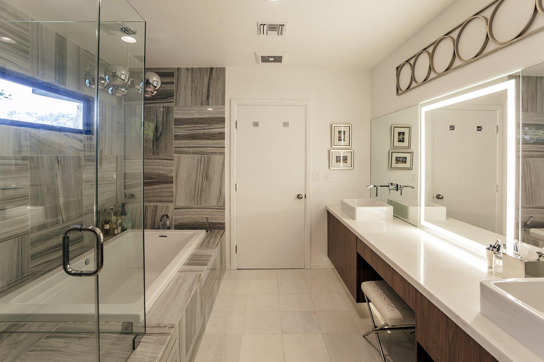 Master bath  Thomas Residence