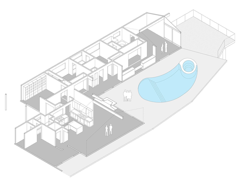Isometric  Thomas Residence