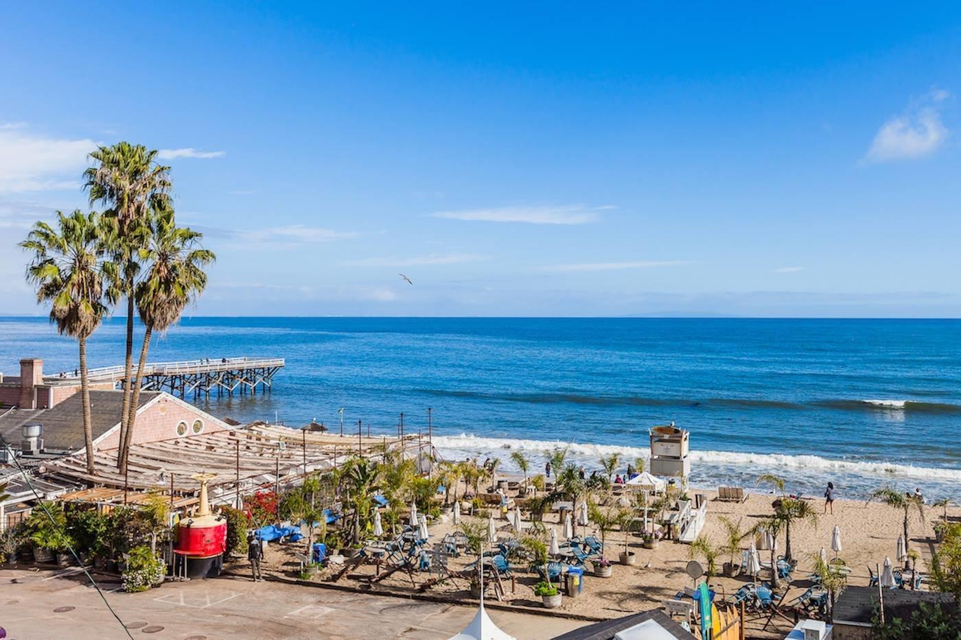 Paradise Cove Beach Cafe  Reclaimed Malibu Modern Beach Retreat