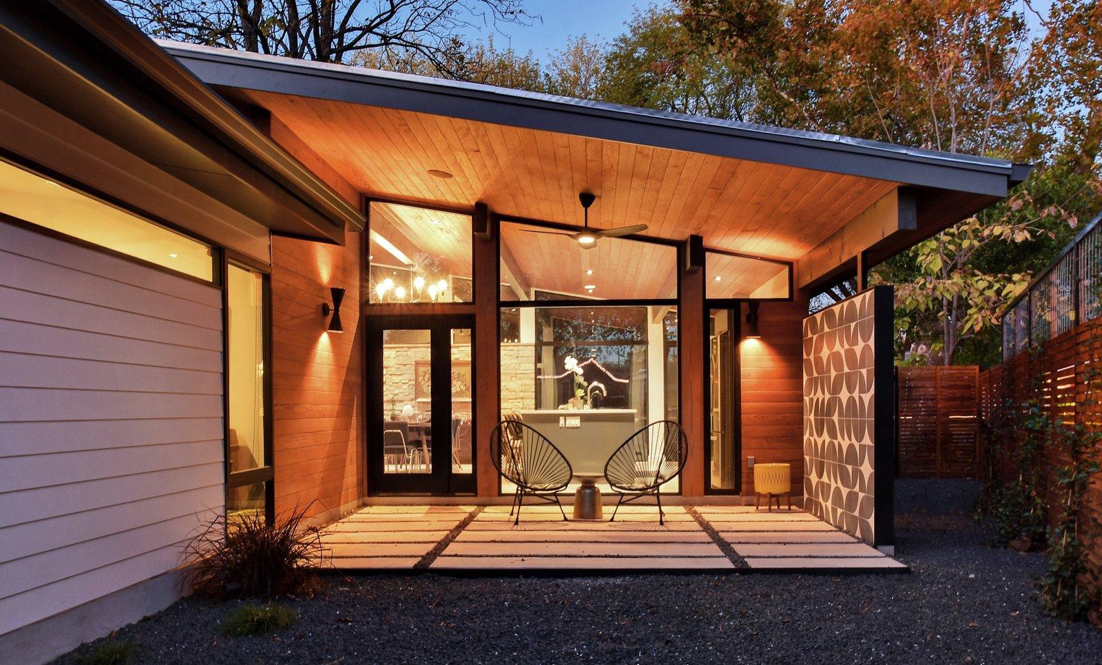 After: Re-Open House backyard