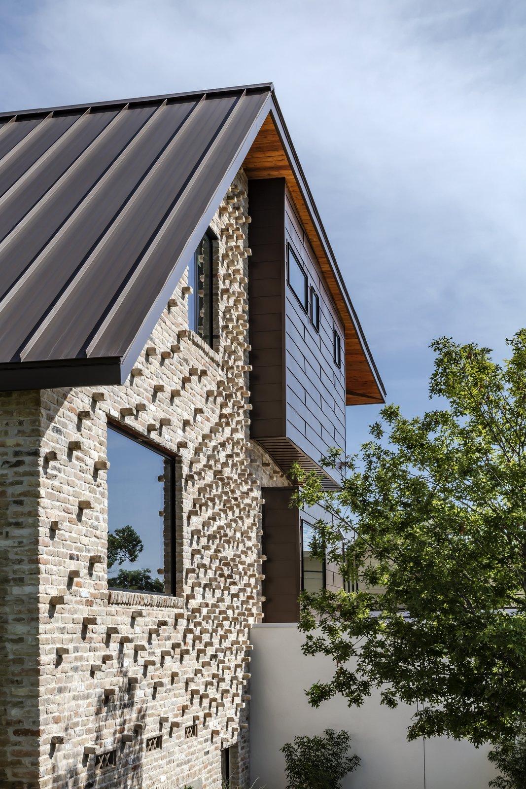 Mullet House brickwork