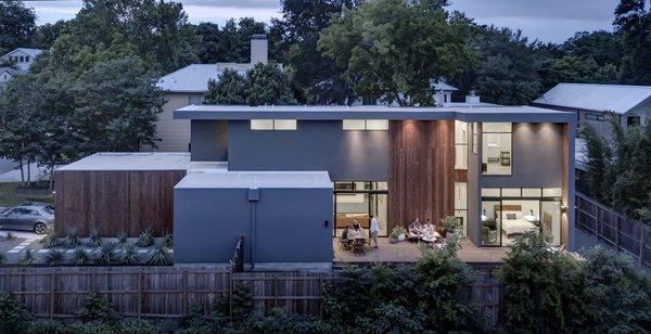 Add/Subtract House by Matt Fajkus Architecture | Photo by Charles Davis Smith