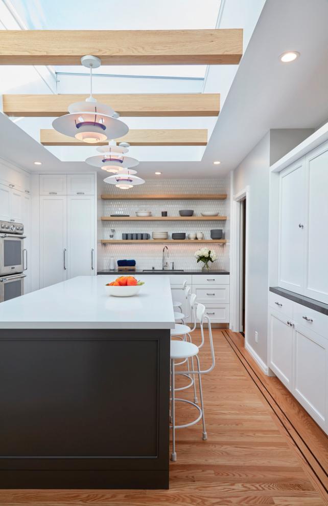 Light, white and bright. - Danish design mantra  A Danish Inspired Kitchen
