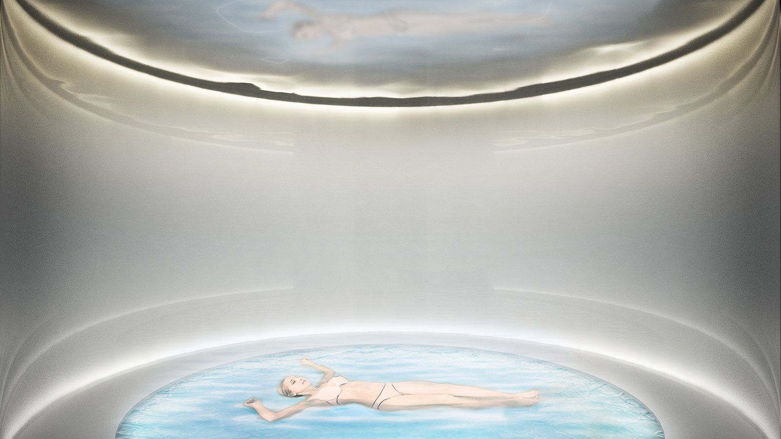 Bath Room spa experience dead sea  Photo 11 of 18 in A Proposed Icelandic Resort Celebrates Wellness and its Magical Surroundings