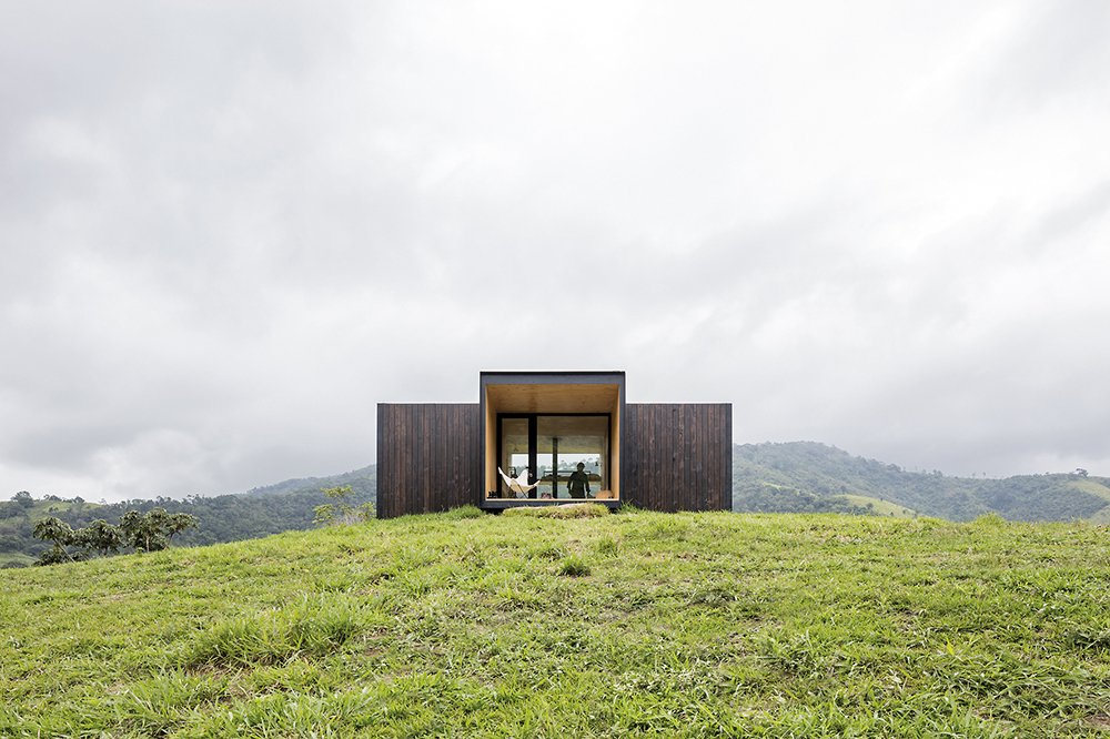 Exterior, Cabin Building Type, and Prefab Building Type modern prefab cabin kits  Photos from 13 Modern Prefab Cabins You Can Buy Right Now
