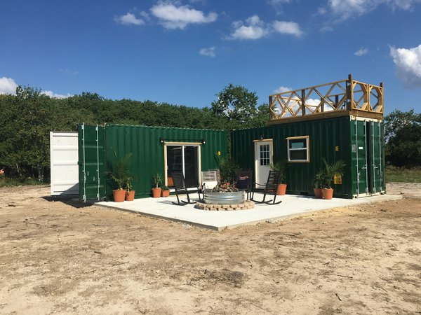Workshop and Golf Tees by Back Country Containers
