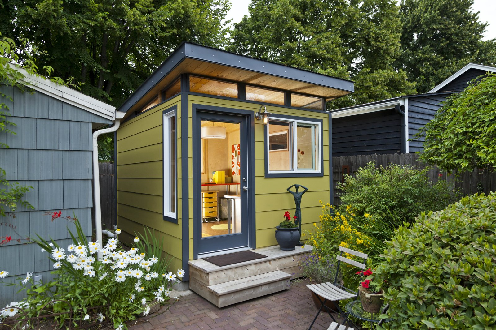 modern she shed design ideas