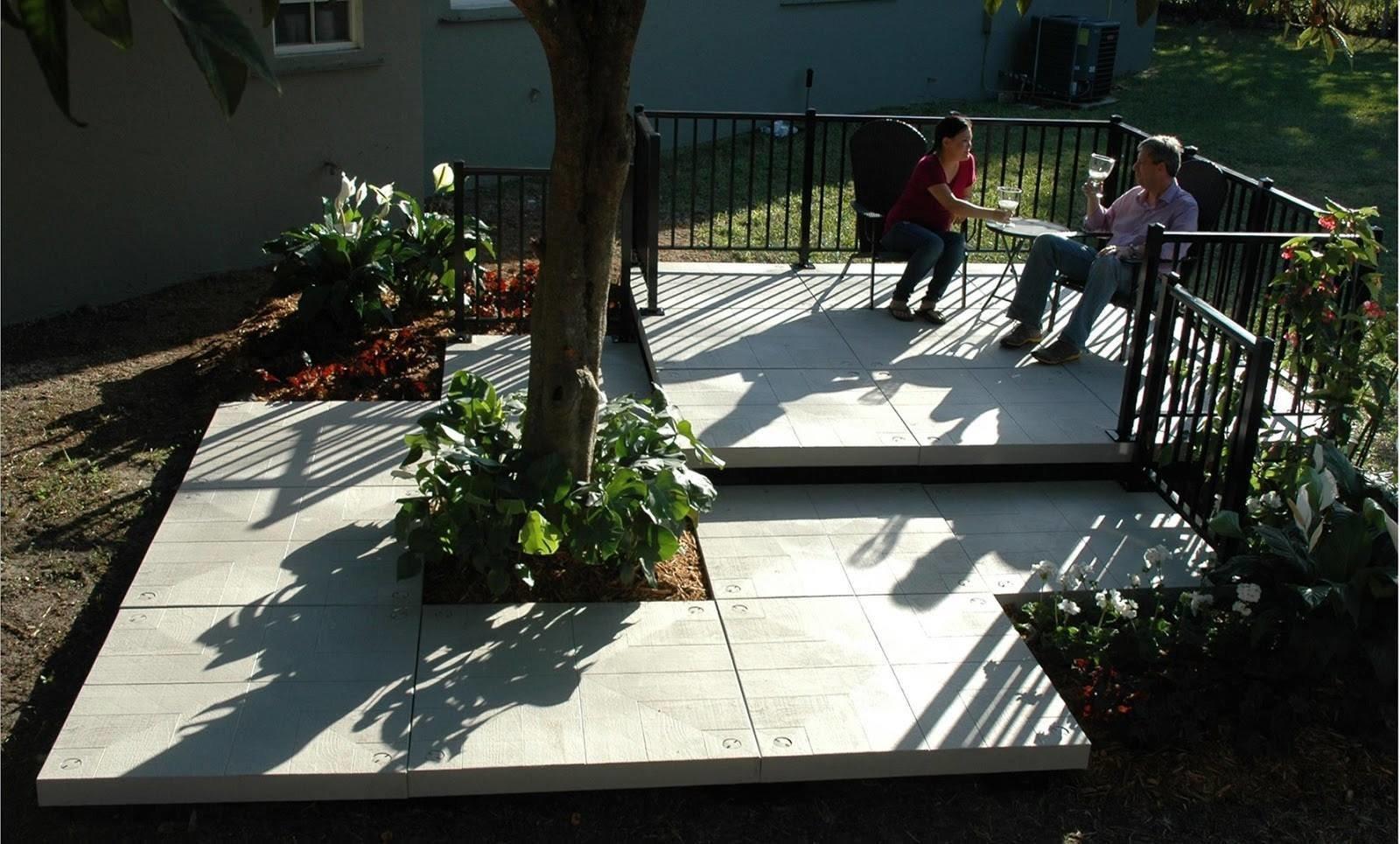 Outdoor Small Patio Porch Deck Decking