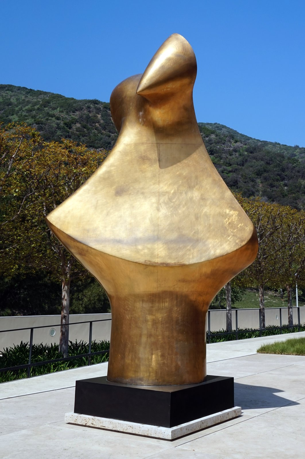 The Fran and Ray Stark Sculpture Garden in Los Angeles, CA  Photo 2 of 8 in Top 8 Outdoor Sculpture Parks Perfect For a Summer Outing