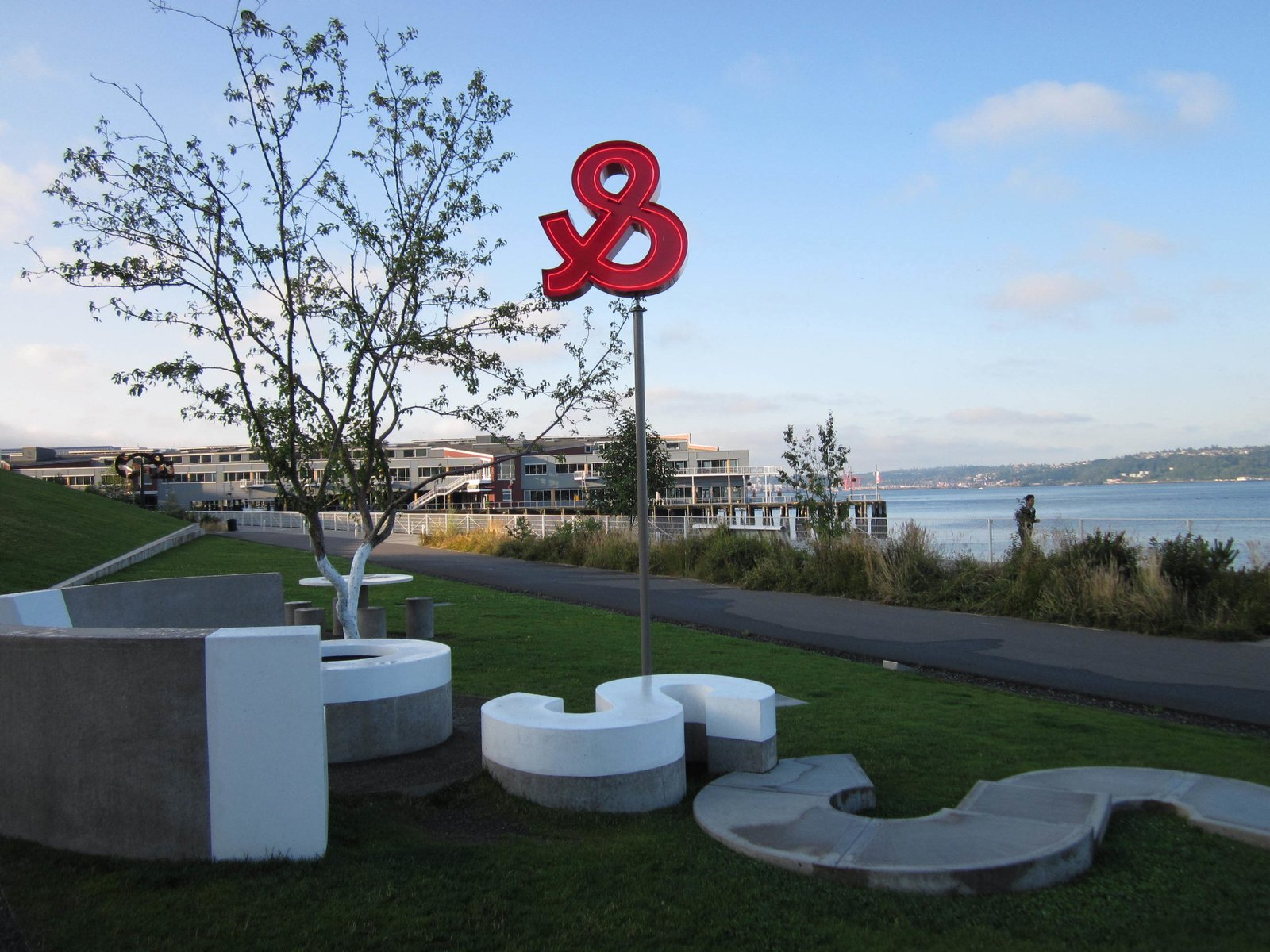 Olympic Sculpture Park in Seattle, WA  Photo 1 of 8 in Top 8 Outdoor Sculpture Parks Perfect For a Summer Outing