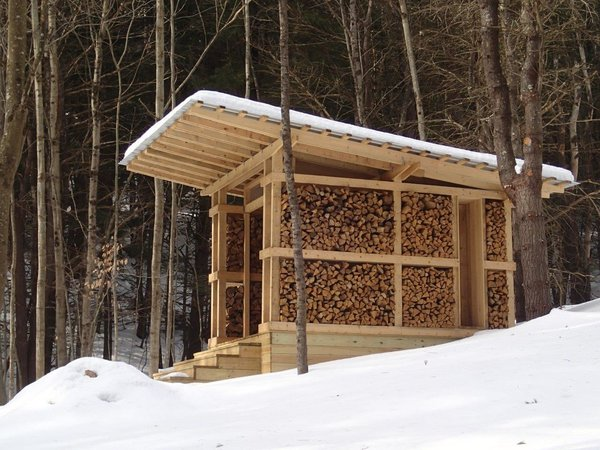 Design Students Build Seven Modern Sheds in Rural Vermont