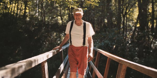 84-year-old Charles Bello left the world of California modernism in the 1960s to embark on his own nature-inspired, architectural journey among hundreds of acres of redwoods in Northern California.