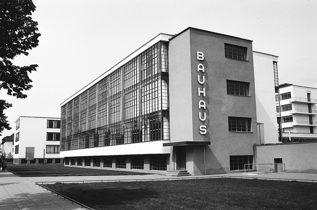 Bauhaus Dessau, completed in 1925 and designed by Walter Gropius.  Photo 2 of 10 in 100 Years of Bauhaus: What You Should Know About This Milestone Movement