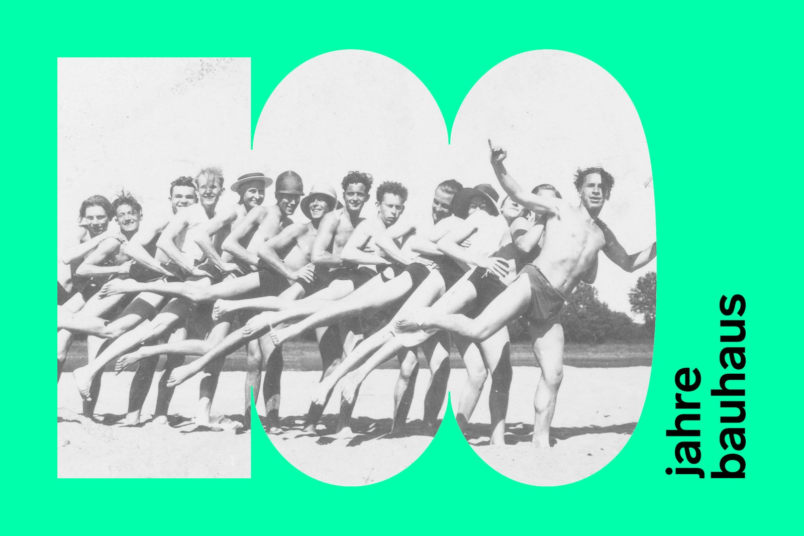 Students and faculty of the Bauhaus on the beach, 1926-1927. Irene Bayer or Marianne Brandt, 1926-27. Bauhaus Archive Berlin.  Photo 4 of 10 in 100 Years of Bauhaus: What You Should Know About This Milestone Movement