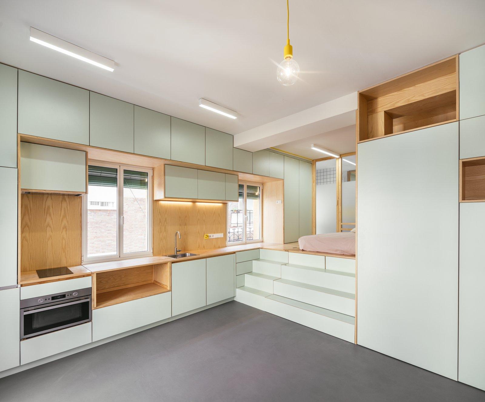 Yojigen Poketto small kitchen