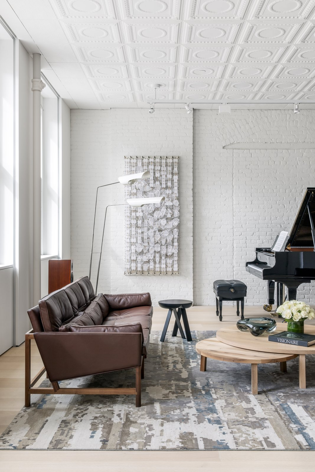 Soho Cast Iron Loft  living room