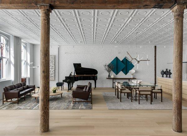 This Elegant, Industrial SoHo Loft Is Streamlined but Cozy