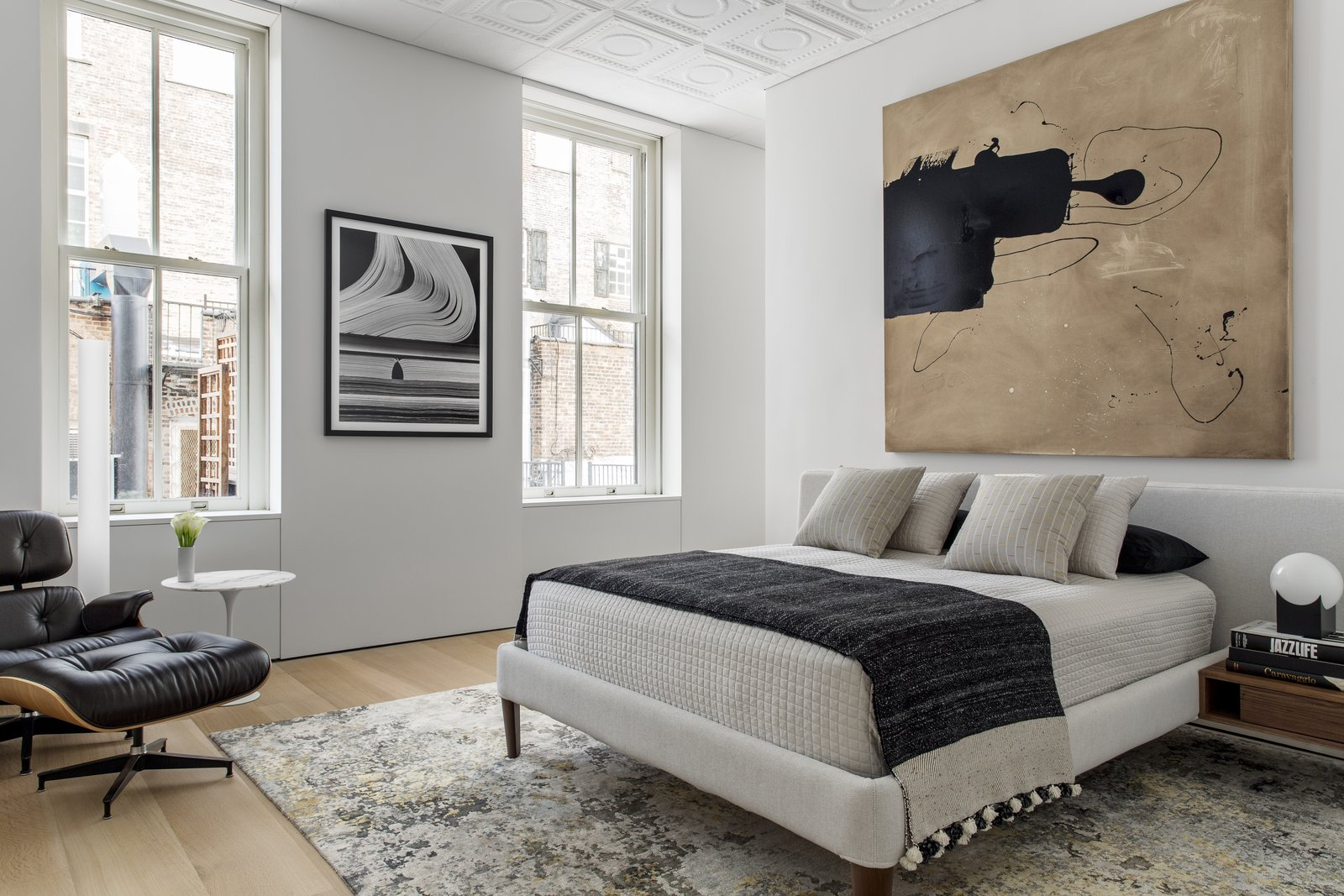 Soho Cast Iron Loft bedroom