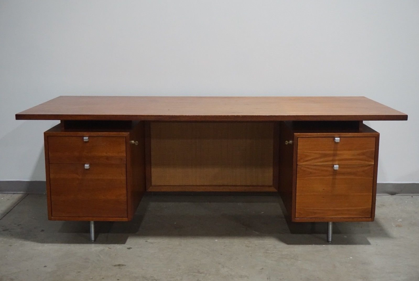 Teak Desk by George Nelson for Herman Miller