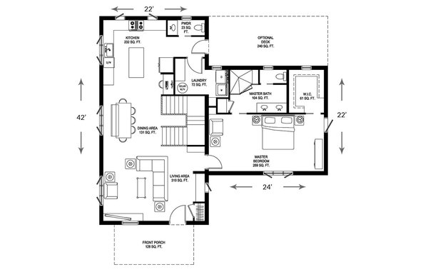 Photo 20 of 22 in 11 Modular Home Floor Plans That Suit a