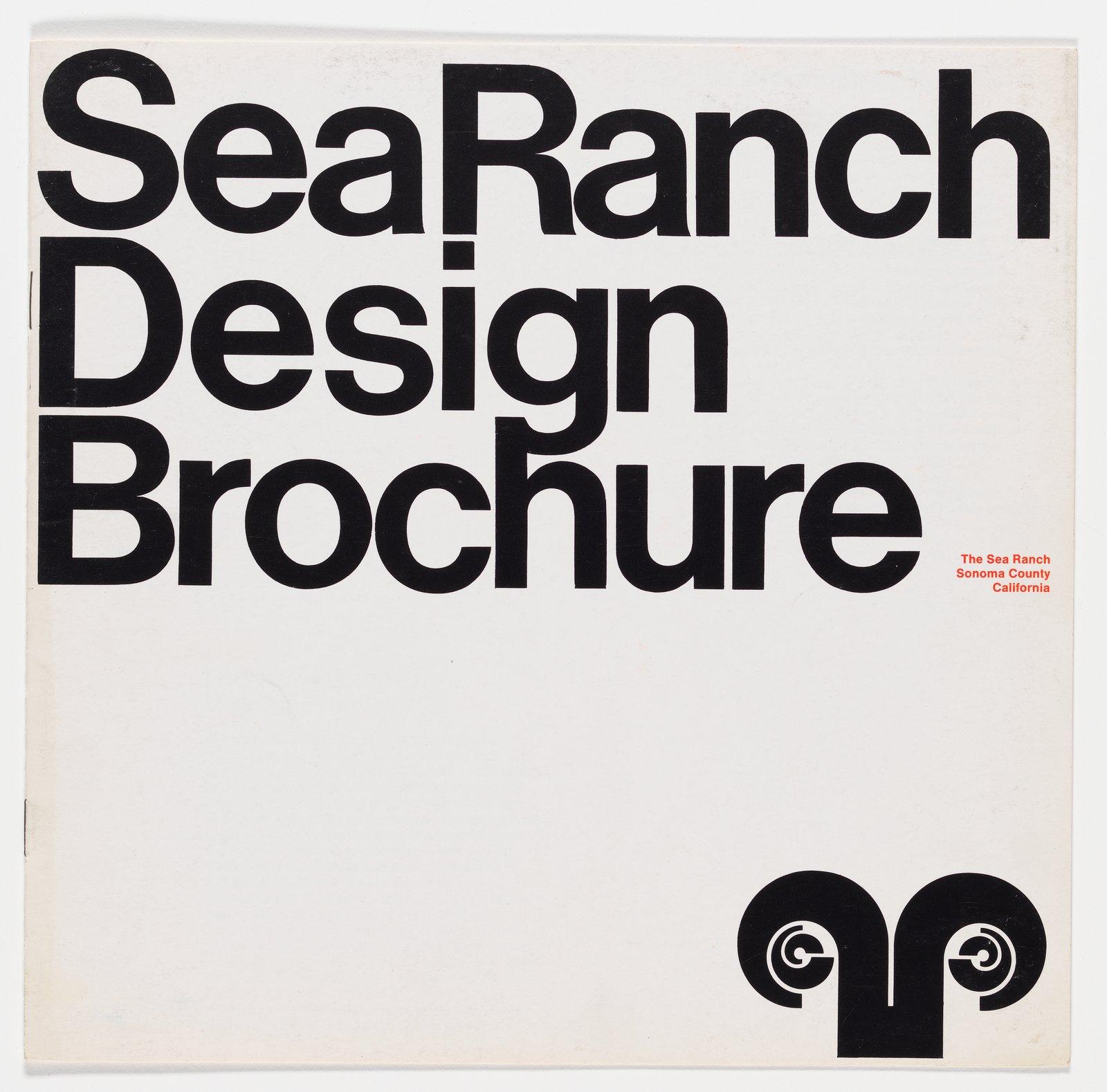 An original Sea Ranch Design Brochure designed by Barbara Stauffacher Solomon, circa 1965.  Photo 11 of 11 in The Legacy of Sea Ranch, a Utopian Community in Northern California