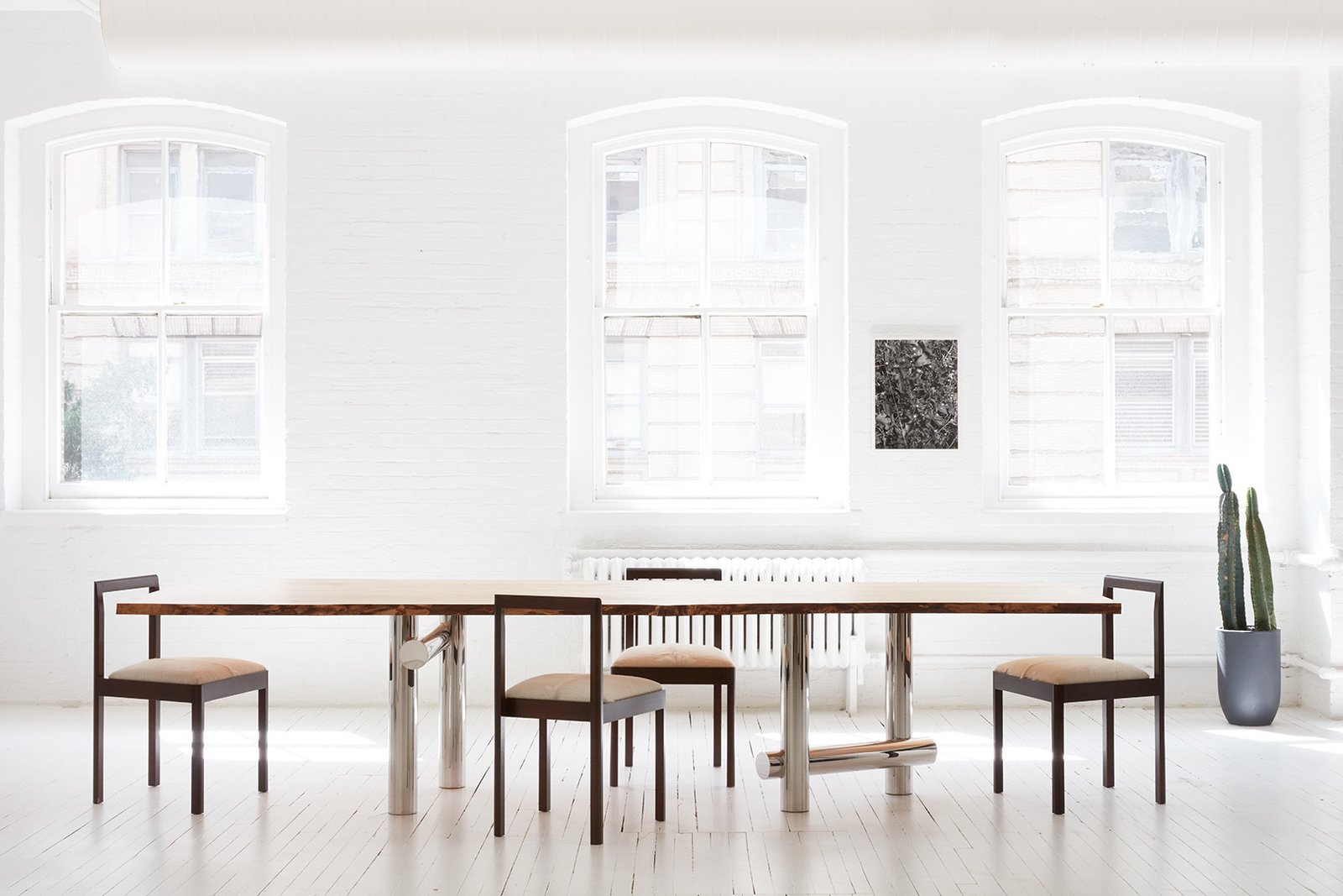 The Kenny dining table by Egg Collective