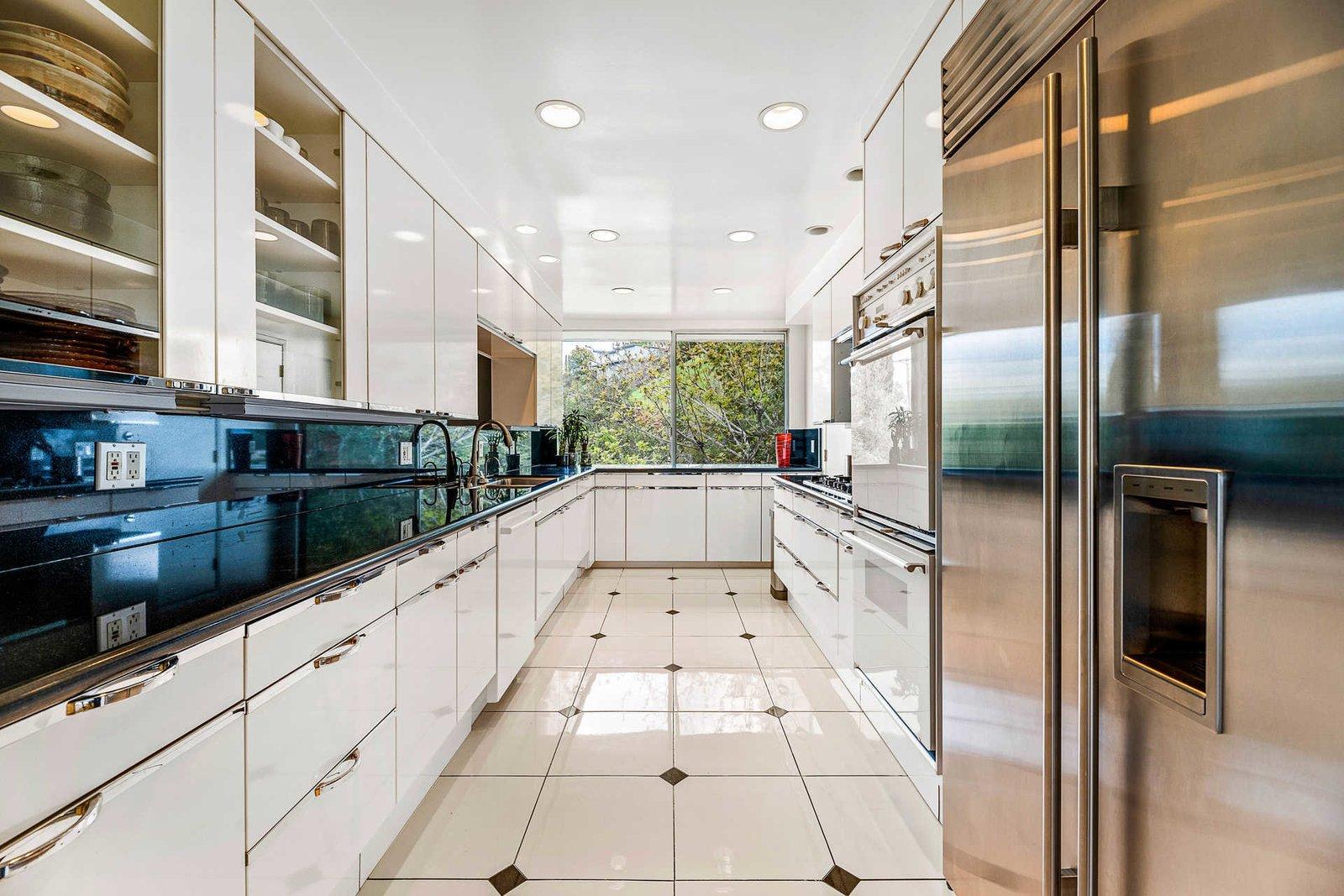 Richard Neutra Platform House kitchen